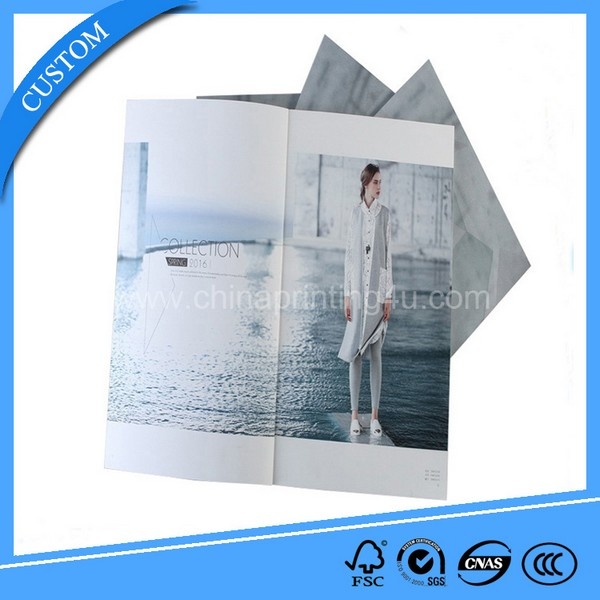 2018 Good Quality Printing Catalogue With Full Color Printing